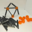 Download free STL file Icosahedron Model, Pedagogically Stretched • Object to 3D print, LGBU