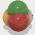 Free 3D file Solids/Surfaces of Constant Width, Triangular, Pentagonal, Tetrahedronal Balls, LGBU