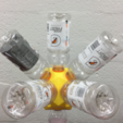 Download free STL file Gatorade Bottle Project: From Icosahedron to Dodecahedron, Platonic Duals, LGBU