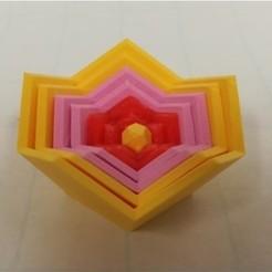 Free 3D printer file Nested Dodecahedra, Russian Dolls, LGBU