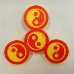 Free stl file Spinner, Tai Chi, Yin-Yang, LGBU
