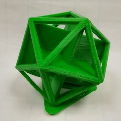 Free 3D print files Golden Rectangles in an Icosahedron, LGBU
