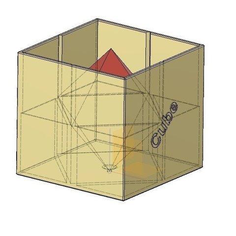 e3a6794eb785d099d91601e1f21f6e2a_display_large.jpg Télécharger fichier STL gratuit Octaèdre en cube / Hexaèdre • Plan imprimable en 3D, LGBU