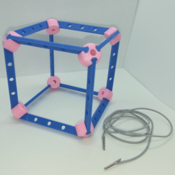 Download free 3D printer templates Cube Model, Pedagogically Stretched, LGBU