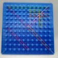 Download free 3D printing models Cartesian Coordinate System Board, XY System, Plotting, Graphing, LGBU