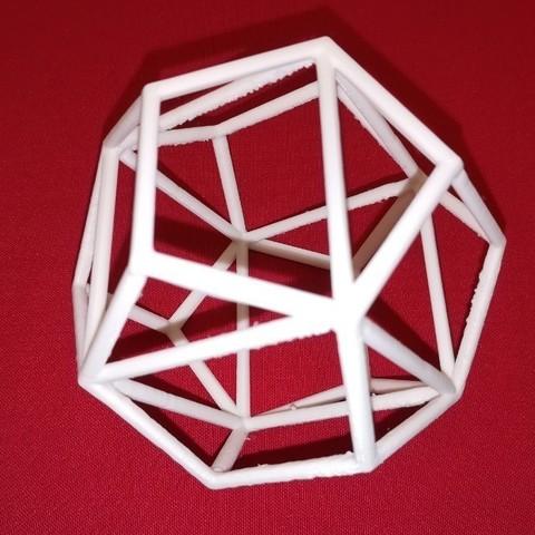 Télécharger objet 3D gratuit Cube dans un dodécaèdre, LGBU