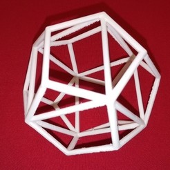 Free 3D printer designs Cube in a Dodecahedron, LGBU