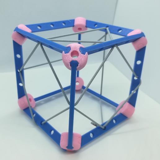 p3.PNG Download free STL file Cube Model, Pedagogically Stretched • 3D printing design, LGBU