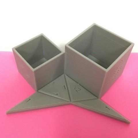 plan 3d gratuit Problème de doublement du cube de Delian Cube, LGBU