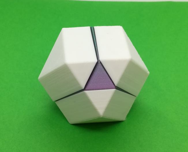 p4.PNG Download free STL file Cuboctahedron Puzzle, Cube Puzzle • 3D printable design, LGBU