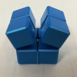 Capture d'écran 2018-02-08 à 10.04.56.png Download free STL file Infinity Cube, Magic Cube, Flexible Cube, Folding Cube for Flexible TPU filament • 3D printing template, LGBU