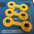 Free 3D printer file Double Spinning Linkage Bars, Geometric Construction, Pendulum, LGBU