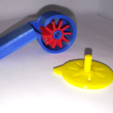 p3.PNG Download free STL file Whistles with a Turbine, STEM Play • Model to 3D print, LGBU