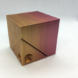 Download free 3D printer templates Spinnable Cube: All in One, LGBU