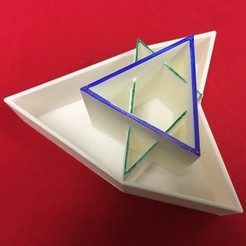 Télécharger fichier 3D gratuit Triangle Napoléon, Triangle équilatéral, LGBU