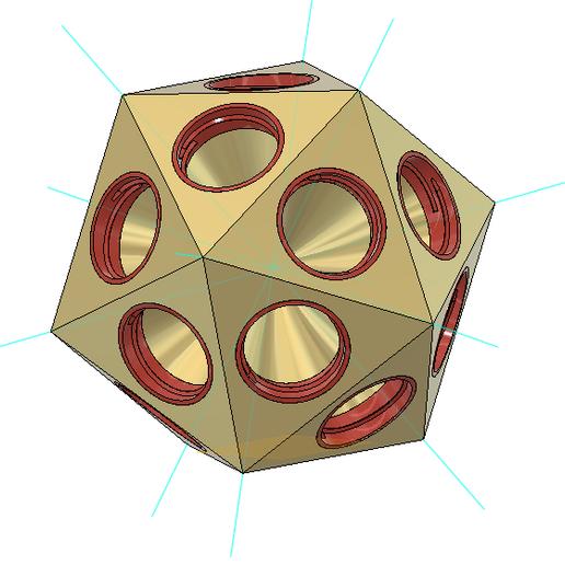 how.PNG Télécharger fichier STL gratuit Gatorade Bottle Project : D'Icosaèdre à Dodécaèdre, Platonic Duals • Modèle pour imprimante 3D, LGBU