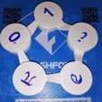 Télécharger plan imprimante 3D gatuit Connected Linkage, Pendulum, Flexible Pentagone, LGBU