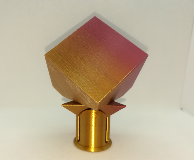 p02.PNG Download free STL file Spinnable Cube: All in One • Object to 3D print, LGBU