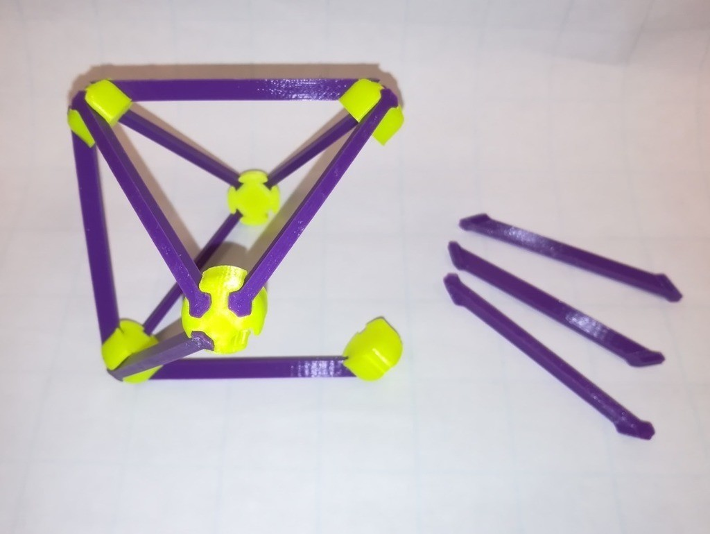 77621d171ae8d68dccb3981ac03649fc_display_large.jpg Download free STL file Make Your Own Platonic Octahedron, Snap • Model to 3D print, LGBU