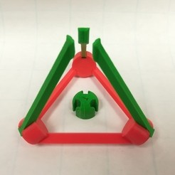 Free STL files Make Your Own Platonic Tetrahedron, LGBU