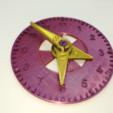 Télécharger STL gratuit Modèle d'horloge analogique éducative, LGBU