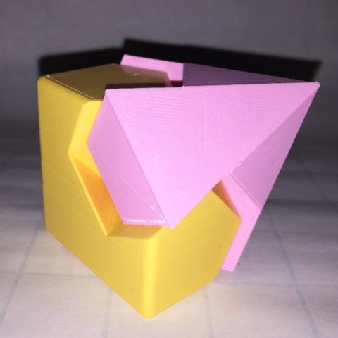 Capture d'écran 2018-01-22 à 12.08.51.png Download free STL file Diamond, Dodecahedron, Kawai Joint • Design to 3D print, LGBU