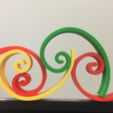 Free 3d model Golden Curve/Spiral, LGBU