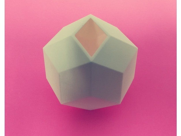 28ce60cfb9c6c210fac92a0625e87d10_preview_featured.jpg Download free STL file Rhombic Icosahedron and its Dissection, Golden Ratio • Object to 3D print, LGBU