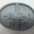 Free stl file Zero Model, Negative & Positive Numbers, LGBU