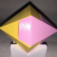 Free stl file Diamond, Dodecahedron, Kawai Joint, LGBU