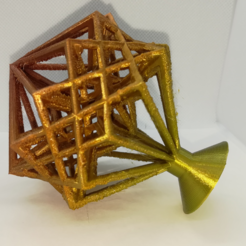 p1.PNG Download free STL file Hypercube and Hyper-Hyperboloid • Model to 3D print, LGBU