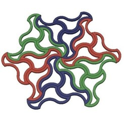 Free stl Simple Tessellation, LGBU