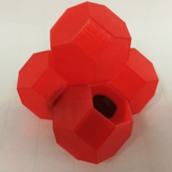 Free 3d printer files Half Truncated Octahedron, LGBU