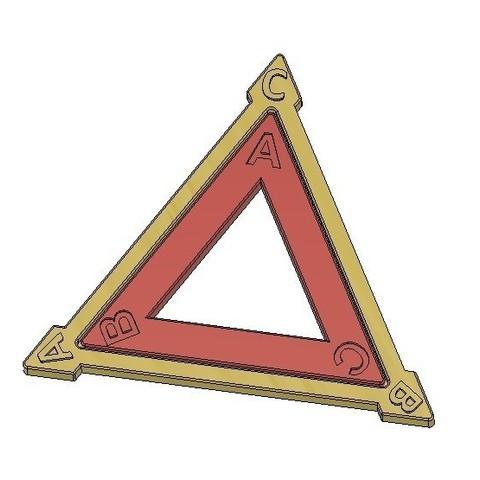 Télécharger objet 3D gratuit Dièdre Groupe D3, Triangle équilatéral, Symétries, LGBU