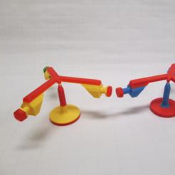 Free 3d model Model for Balancing Bird, LGBU