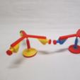 Free 3D printer file Model for Balancing Bird, LGBU