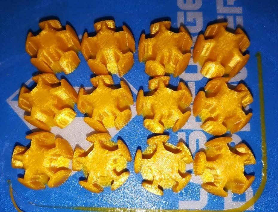 51769f5e66e67d56c87816dd892d089a_display_large.jpg Download free STL file Make Your Own Platonic Icosahedron, Snap • 3D printable design, LGBU