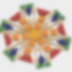 Free stl file Pattern Blocks, Math, Geometry, Art, LGBU