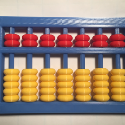 Download free 3D printing models Abacus, Soroban, そろばん, Suan Pan, 算盘, Chinese, Japanese, LGBU