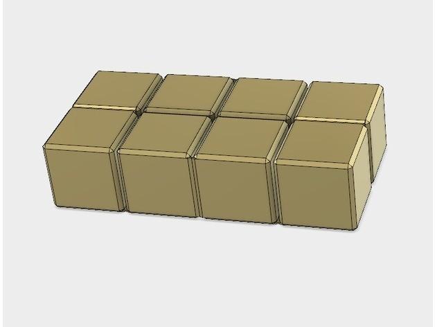 fe7d8da228fbb75bd6af5a06240c5d1e_preview_featured.jpg Download free STL file Infinity Cube, Magic Cube, Flexible Cube, Folding Cube for Flexible TPU filament • 3D printing template, LGBU