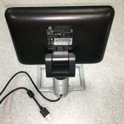 p8.jpg Download free STL file HP POS USB 7 in Display Stand • 3D printing model, LGBU