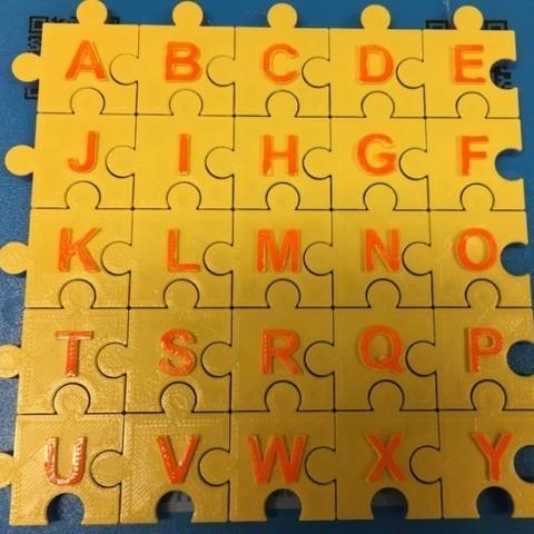 28ce60cfb9c6c210fac92a0625e87d10_display_large.jpg Download free STL file Jigsaw Letters, English Alphabet • 3D printing design, LGBU