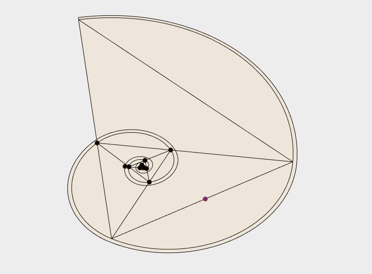 how.png Download free STL file Logarithmic Spiral, Golden Triangle, Golden Gnomon, Spira Mirabilis • 3D print object, LGBU