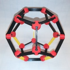 Free STL files Make Your Own Platonic Dodecahedron, LGBU