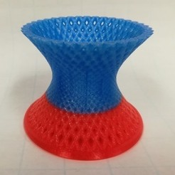 Download free 3D printing templates Hyperboloid Container / Caddy, LGBU