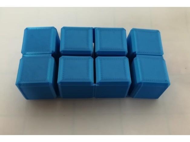 77621d171ae8d68dccb3981ac03649fc_preview_featured.jpg Download free STL file Infinity Cube, Magic Cube, Flexible Cube, Folding Cube for Flexible TPU filament • 3D printing template, LGBU
