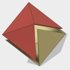Free 3d printer designs Half Octahedron, Make Your Own, LGBU