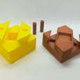Download free STL file Dovetail Box Puzzle, Cube Puzzle • 3D printer object, LGBU