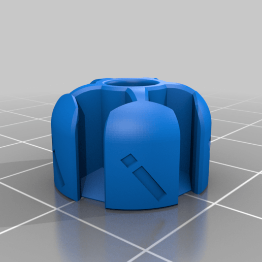 iVertex.png Download free STL file Icosahedron Model, Pedagogically Stretched • Object to 3D print, LGBU