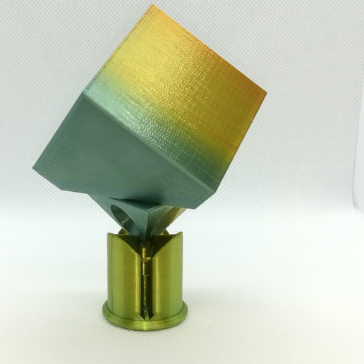 p7.PNG Download free STL file Spinnable Cube: All in One • Object to 3D print, LGBU